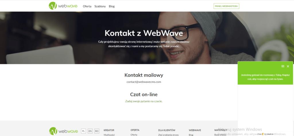 funkcje WebWave
